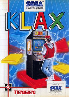 Carátula del juego Klax (SMS)