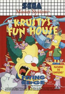 Carátula del juego Krusty's Fun House (SMS)