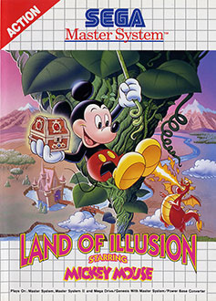 Carátula del juego Land of Illusion starring Mickey Mouse (SMS)