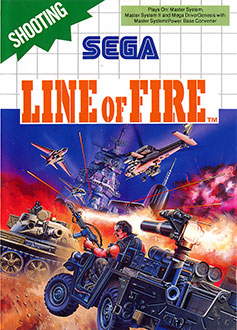 Carátula del juego Line of Fire (SMS)