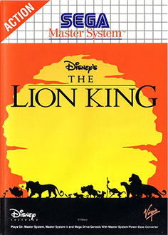 Carátula del juego The Lion King (SMS)