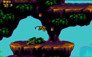Pantallazo del juego online The Lion King (SMS)