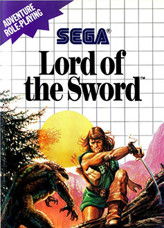 Carátula del juego Lord of the Sword (SMS)