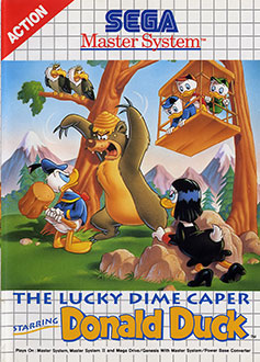 Juego online The Lucky Dime Caper Starring Donald Duck (SMS)