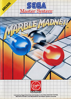 Carátula del juego Marble Madness (SMS)