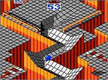 Pantallazo del juego online Marble Madness (SMS)