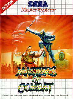 Carátula del juego Masters of Combat (SMS)