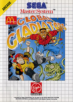 Juego online Mick and Mack as the Global Gladiators (SMS)