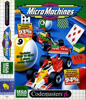 Juego online Micro Machines (SMS)