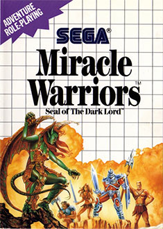 Carátula del juego Miracle Warriors Seal of the Dark Lord (SMS)