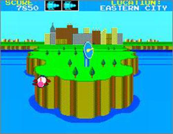 Pantallazo del juego online Missile Defense 3-D (SMS)