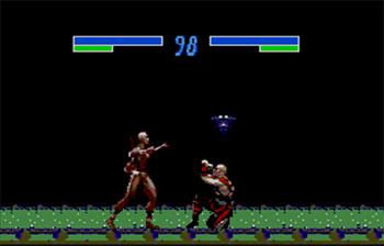 Pantallazo del juego online Mortal Kombat 3 (SMS)