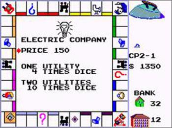 Pantallazo del juego online Monopoly (SMS)