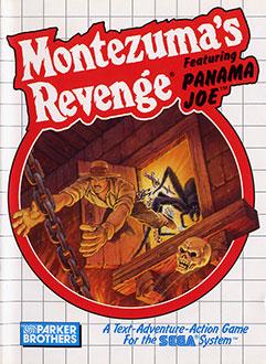 Carátula del juego Montezuma's Revenge featuring Panama Joe (SMS)