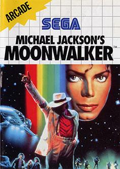 Carátula del juego Michael Jackson's Moonwalker (SMS)