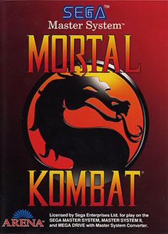 Carátula del juego Mortal Kombat (SMS)