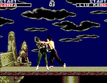 Pantallazo del juego online Mortal Kombat (SMS)
