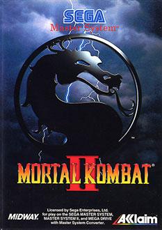 Carátula del juego Mortal Kombat II (SMS)