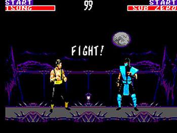 Pantallazo del juego online Mortal Kombat II (SMS)