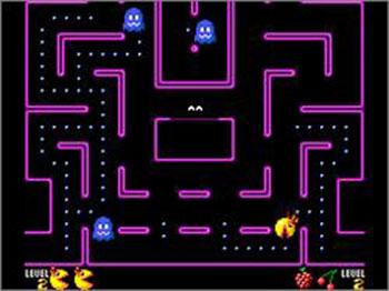 Pantallazo del juego online Ms Pac-Man (SMS)