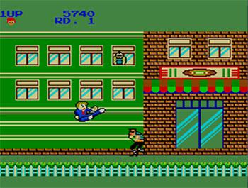 Pantallazo del juego online My Hero (SMS)