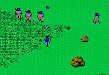 Pantallazo del juego online The Ninja (SMS)