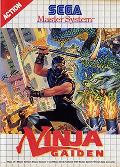 Carátula del juego Ninja Gaiden (SMS)