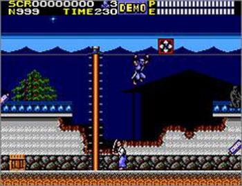 Pantallazo del juego online Ninja Gaiden (SMS)