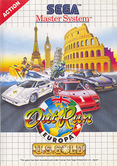Juego online Out Run Europa (SMS)