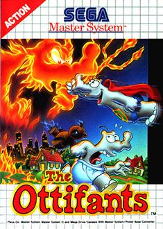 Carátula del juego The Ottifants (SMS)