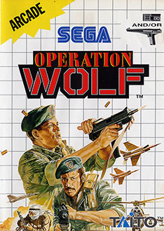 Carátula del juego Operation Wolf (SMS)