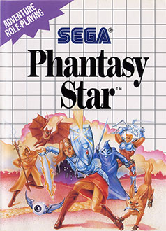 Juego online Phantasy Star (SMS)