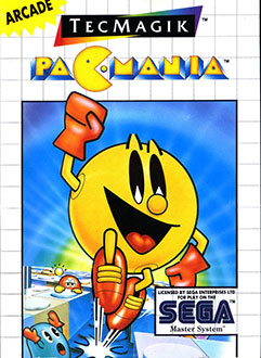 Juego online Pac-Mania (SMS)