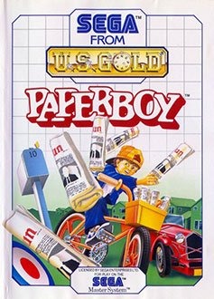 Juego online Paperboy (SMS)