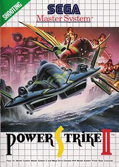 Carátula del juego Power Strike II (SMS)