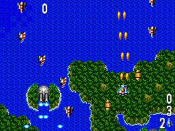 Pantallazo del juego online Power Strike II (SMS)