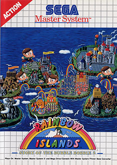 Juego online Rainbow Islands: The Story of Bubble Bobble 2 (SMS)