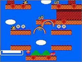 Pantallazo del juego online Rainbow Islands The Story of Bubble Bobble 2 (SMS)