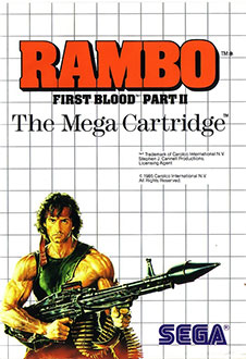 Juego online Rambo: First Blood Part II (SMS)
