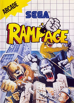 Juego online Rampage (SMS)