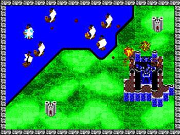 Pantallazo del juego online Rampart (SMS)