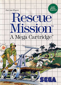 Carátula del juego Rescue Mission (SMS)