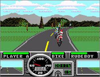 Pantallazo del juego online Road Rash (SMS)