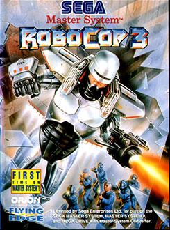 Carátula del juego Robocop 3 (SMS)