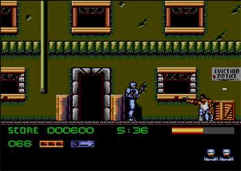 Pantallazo del juego online Robocop 3 (SMS)