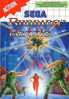 Portada de la descarga de Running Battle