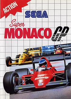 Carátula del juego Super Monaco GP (SMS)