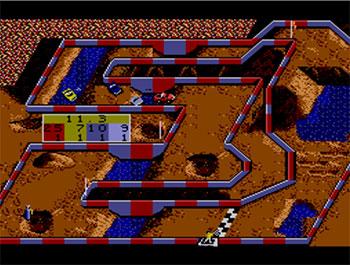 Pantallazo del juego online Super Off Road (SMS)