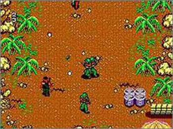 Pantallazo del juego online Secret Commando (SMS)