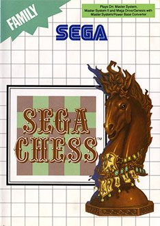 Portada de la descarga de Sega Chess